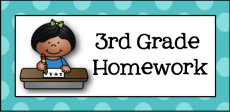 3rd Grade Homework logo
